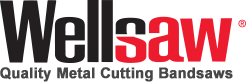 Wellsaw Metal Cutting Bandsaws, Made in the USA since 1926 Logo